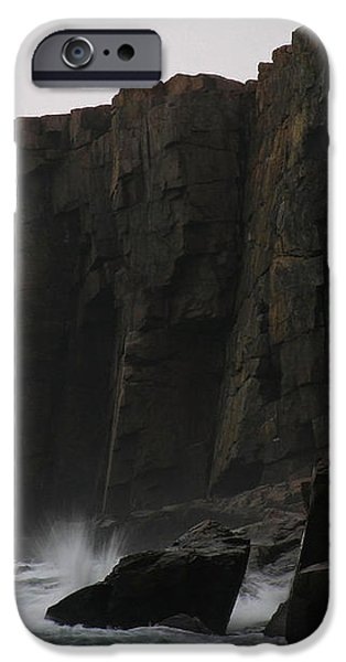 Otter Cliff iPhone Case by Juergen Roth