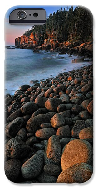 Otter Cliffs - Acadia National Park iPhone Case by Thomas Schoeller