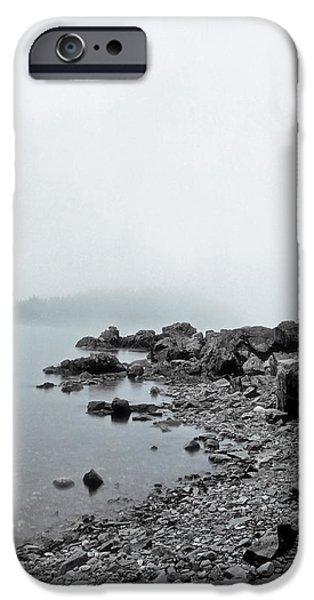 Otter Cliffs iPhone Case by Joann Vitali