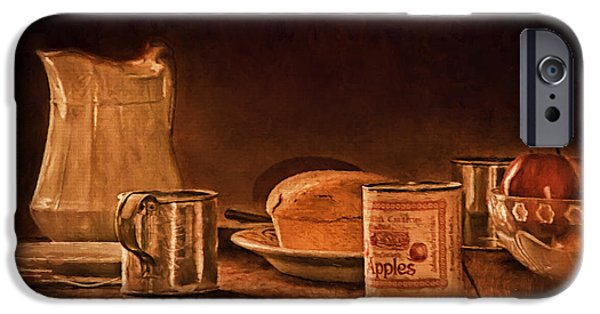 Loaf Of Bread iPhone Cases - Our Daily Bread iPhone Case by Priscilla Burgers
