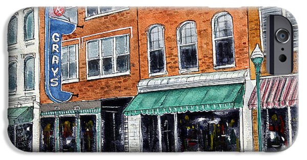 Historic Franklin Tennessee iPhone Cases - Our Franklin iPhone Case by Tim Ross