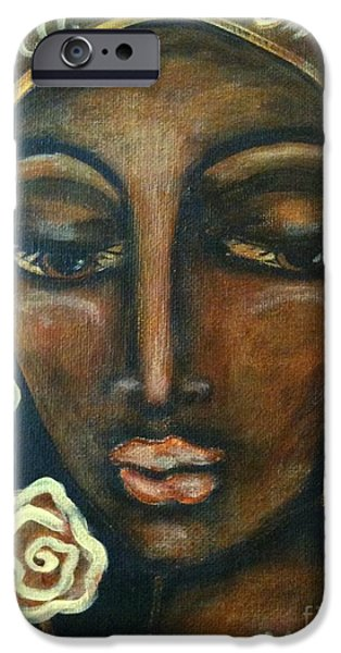 Maya Telford iPhone Cases - Our Lady of Infinite Possibilities iPhone Case by Maya Telford