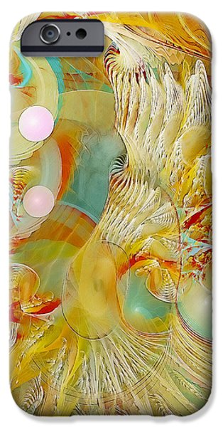 Our Souls Expand iPhone Case by Gayle Odsather