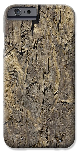 Out Door Ply Wood Tatter Floor  iPhone Case by Sirron Kyles