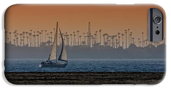 Sailboat Ocean iPhone Cases - Out for a Sail iPhone Case by Ernie Echols