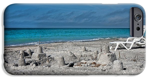 Sand Castles Photographs iPhone Cases - Out for Lunch iPhone Case by Betsy A  Cutler