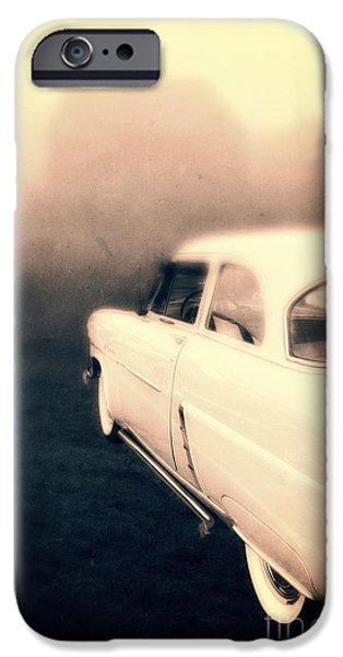Mysteries iPhone Cases - Out of Gas iPhone Case by Edward Fielding