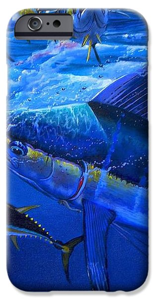 Out of the blue iPhone Case by Carey Chen