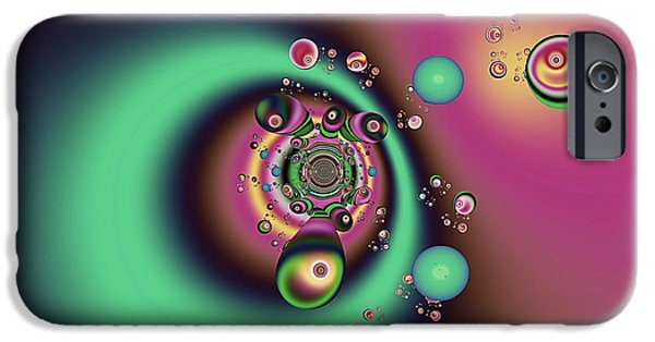 Planet Fantastic iPhone Cases - Out of the Dark iPhone Case by Wendy J St Christopher