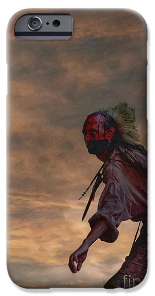Narrative iPhone Cases - Out of the Darkness iPhone Case by Randy Steele