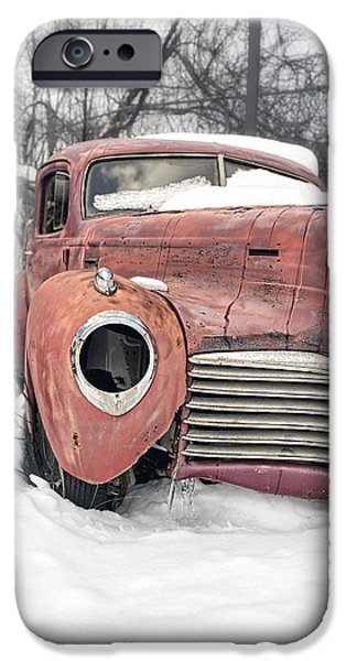 New Hampshire iPhone Cases - Out of the past iPhone Case by Edward Fielding
