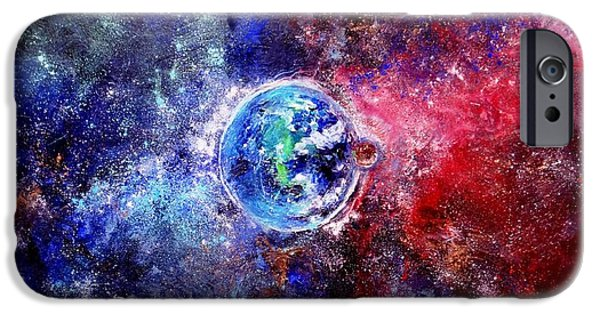 Out Of This World iPhone Cases - Out of this World iPhone Case by Patty Kingsley