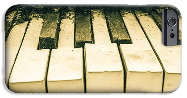 Piano iPhone Cases - Out of Tune iPhone Case by Julian Eales