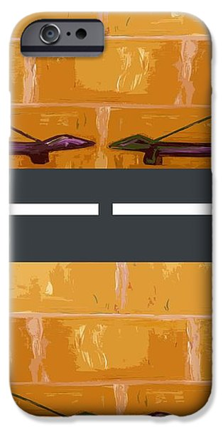 OUT ON THE STREET iPhone Case by Patrick J Murphy