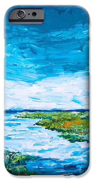 Tidal Creek iPhone Cases - Out to Sea iPhone Case by Alexandra Nicole Newton