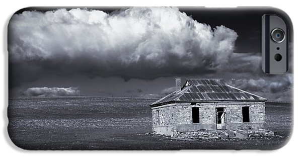 Ruin iPhone Cases - Outback Ruin iPhone Case by Mike  Dawson
