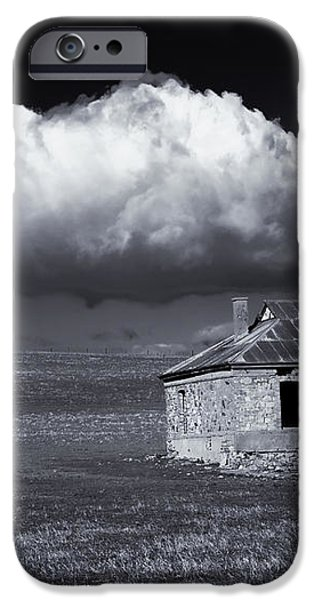 Outback Ruin iPhone Case by Mike  Dawson
