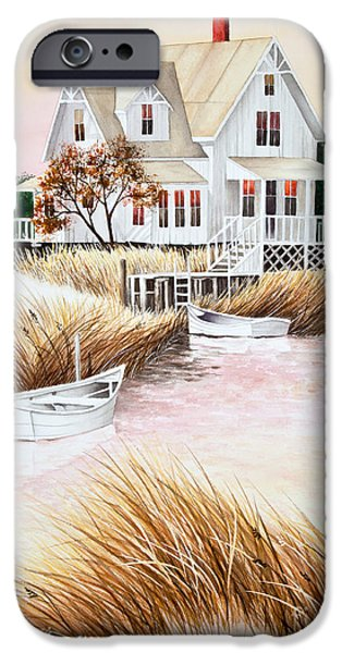 Best Sellers -  - Michelle iPhone Cases - Outer Banks Summer Morning iPhone Case by Michelle Wiarda