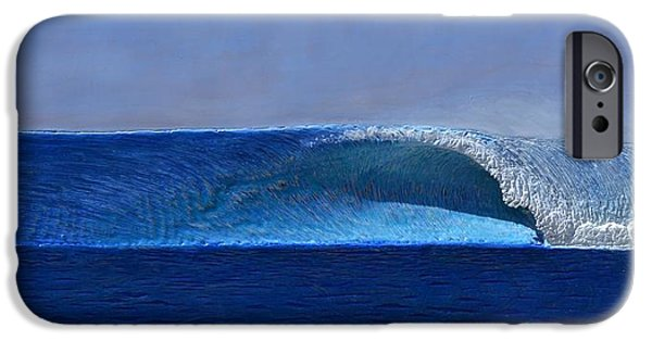 Ocean Reliefs iPhone Cases - Outer Reef iPhone Case by Nathan Ledyard