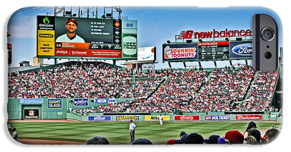 Boston iPhone Cases - Outfield 2 iPhone Case by Dennis Coates