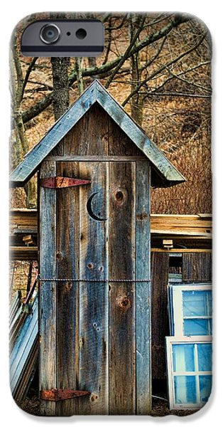 Paul Ward iPhone Cases - Outhouse - 5 iPhone Case by Paul Ward