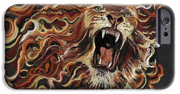 Fury Pastels iPhone Cases - Outrageous Love iPhone Case by Suzanne King