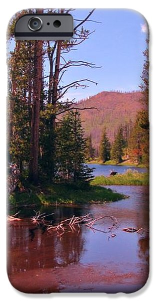 Outstanding Yellowstone National Park iPhone Case by John Malone