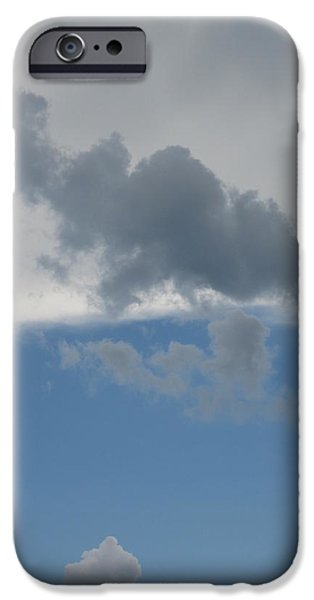Guy Ricketts Photography iPhone Cases - Over Earth and Ocean iPhone Case by Guy Ricketts