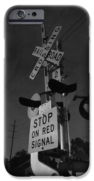 Guy Ricketts Photography iPhone Cases - Over Strange Rails iPhone Case by Guy Ricketts