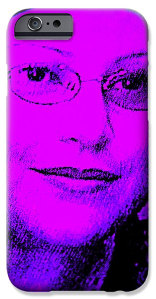 Inner Self Photographs iPhone Cases - Overcoming Breast Cancer iPhone Case by Sandra Pena de Ortiz