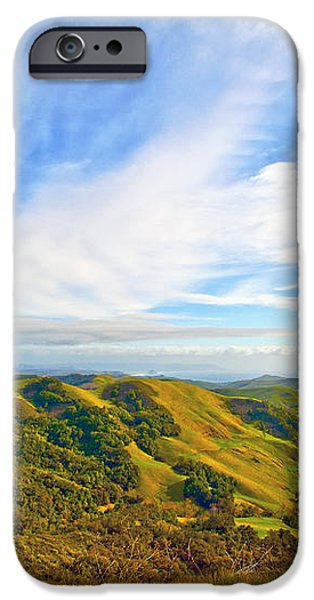 Overlooking Morro Bay CA iPhone Case by Artist and Photographer Laura Wrede
