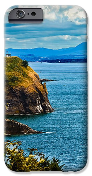 Overlooking iPhone Case by Robert Bales