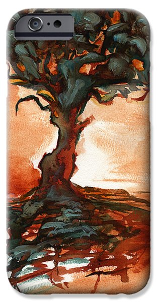 Eerie Mixed Media iPhone Cases - Overture iPhone Case by Ethan Harris