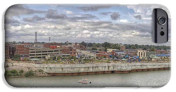 Daviess County Photographs iPhone Cases - Owensboro KY Riverfront iPhone Case by Wendell Thompson