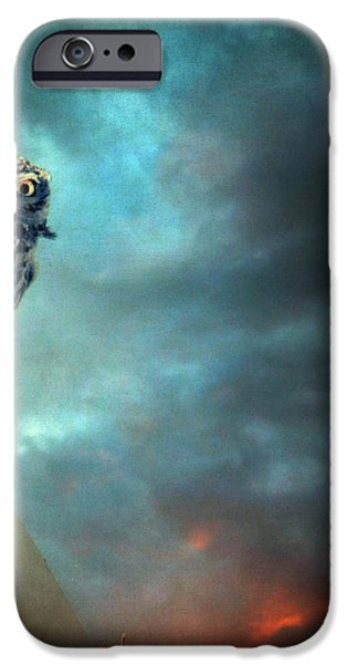 Owl iPhone Case by Taylan Soyturk