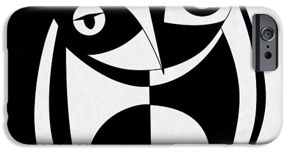 Surrealism Digital iPhone Cases - Own Abstract  iPhone Case by Mark Ashkenazi