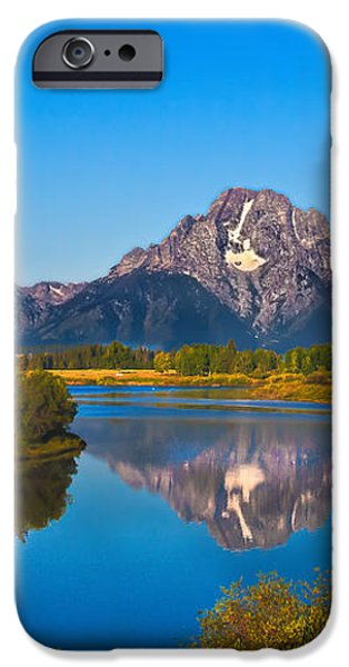 Oxbow Bend II iPhone Case by Robert Bales