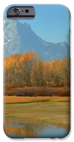 OxBow Bend iPhone Case by Kathleen Struckle