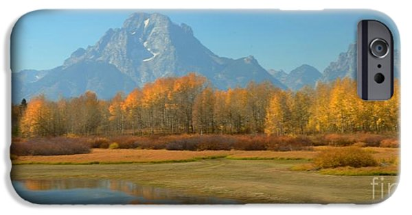 Struckle iPhone Cases - OxBow Bend iPhone Case by Kathleen Struckle