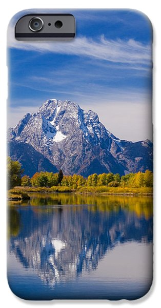 Moran iPhone Cases - Oxbow Bend iPhone Case by Mark Kiver