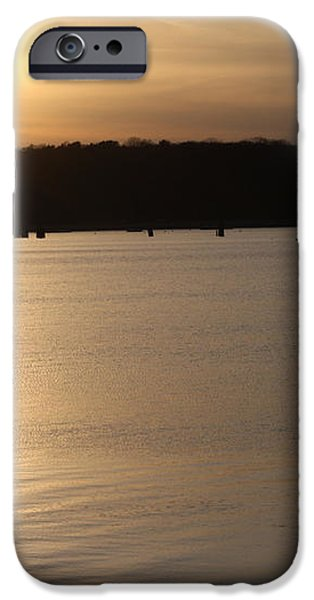 Oyster Bay Sunset iPhone Case by JOHN TELFER