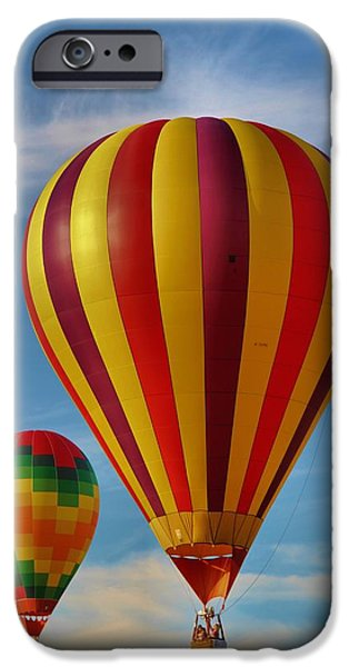 Hot Air Balloon iPhone Cases - Oz iPhone Case by Dan Sproul