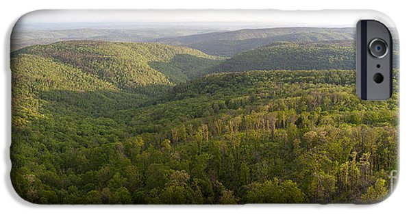 Arkansas iPhone Cases - Ozark Mountains iPhone Case by Greg Dimijian