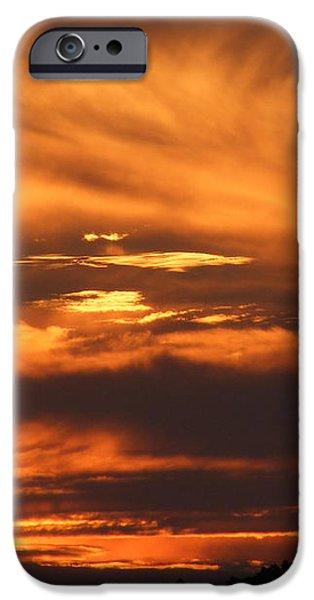 Ozark sunset iPhone Case by Edward Hamilton