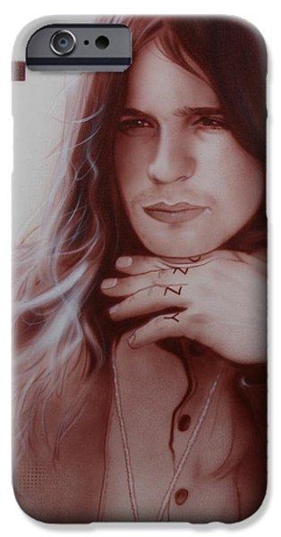 'Ozzy Osbourne' iPhone Case by Christian Chapman Art