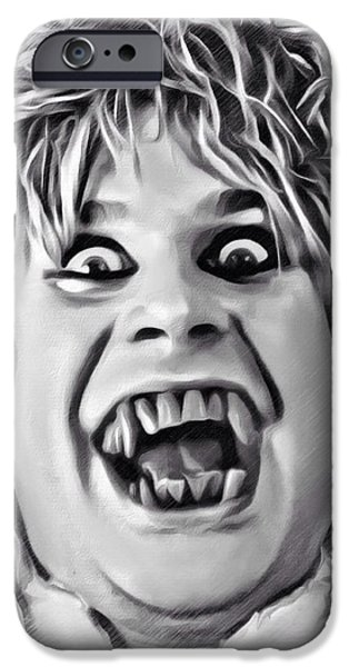 Digital Designs iPhone Cases - Ozzy Osbourne Sketch iPhone Case by Scott Wallace