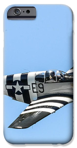 P-51 Mustang Fighter iPhone Case by Puget  Exposure