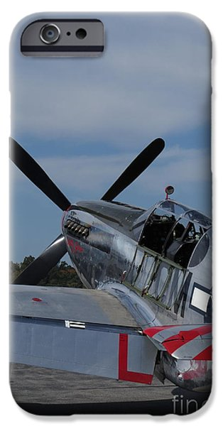 Hudson River iPhone Cases - P-51 Mustang iPhone Case by Randy Jackson