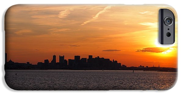 Sunset Reliefs iPhone Cases - P1011884 iPhone Case by Matthew Cummings