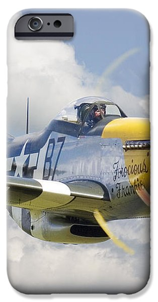P51 Ferocious Frankie iPhone Case by Pat Speirs